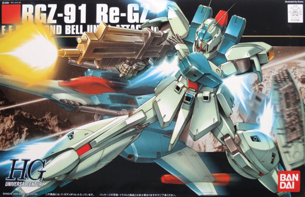 Bandai HGUC 085 Gundam RGZ-91 Re-GZ 1/144 Scale Kit