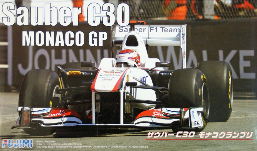 Fujimi GP44 091402 F1 Sauber C30 Monaco GP 2011 with engine 1/20 Scale Kit