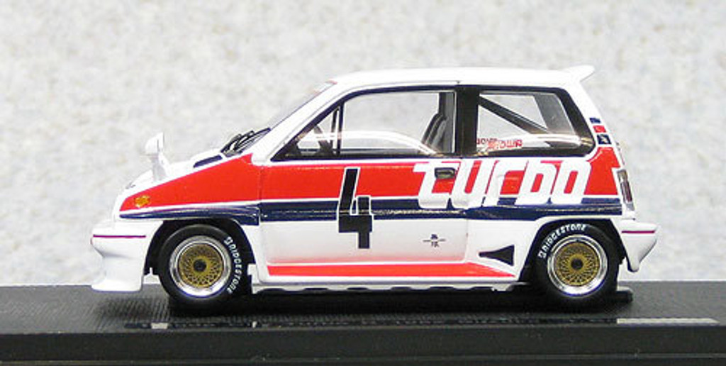 Ebbro 44472 Honda City Turbo R #4 Suzuka 1982 T.Boutsen (Resin) 1/43 Scale