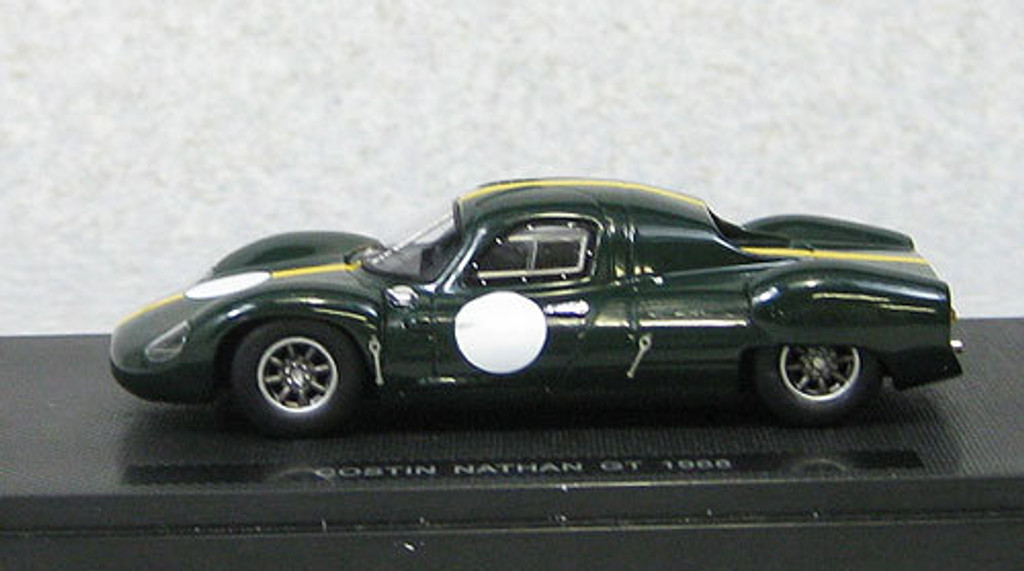 Ebbro 44556 Costin Nathan GT 1968 Green (Resin Model) 1/43 Scale