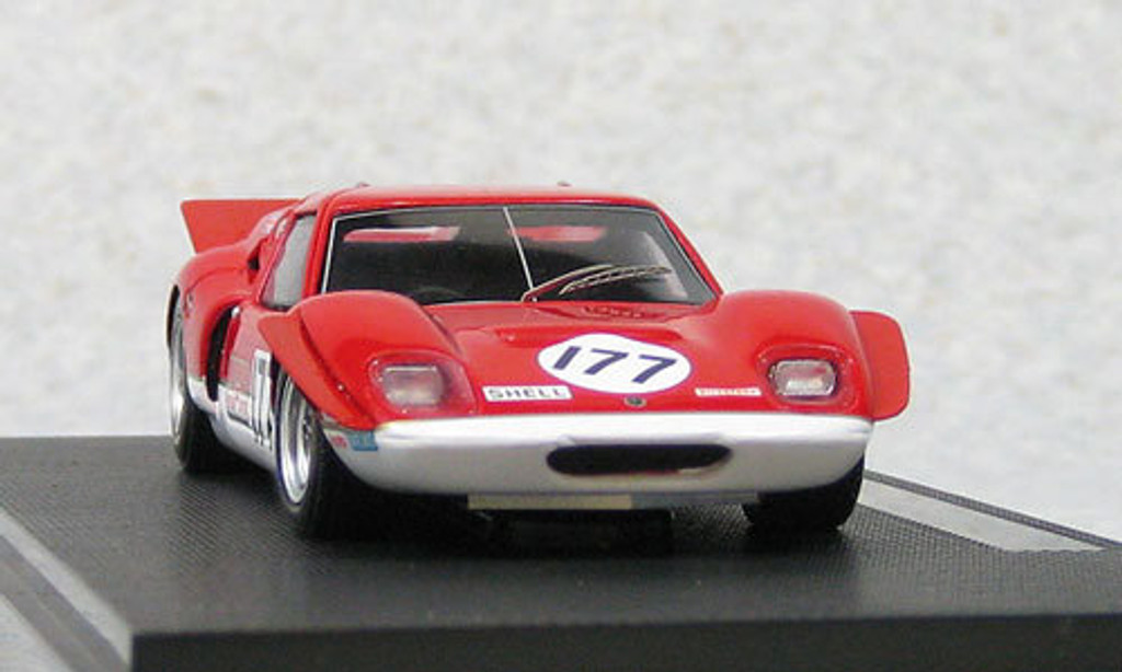 Ebbro 44569 Team Lotus Type 62 1969 Red (Resin Model) 1/43 Scale