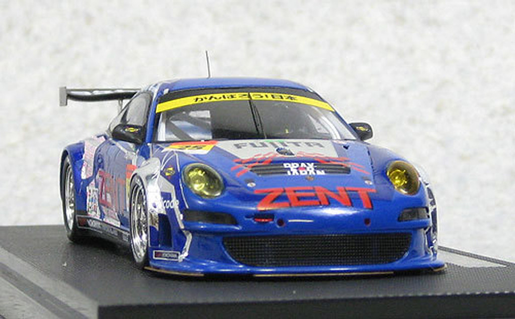 Ebbro 44581 ZENT Porsche RSR Super GT300 2011 #25 (Resin Model) 1/43 Scale
