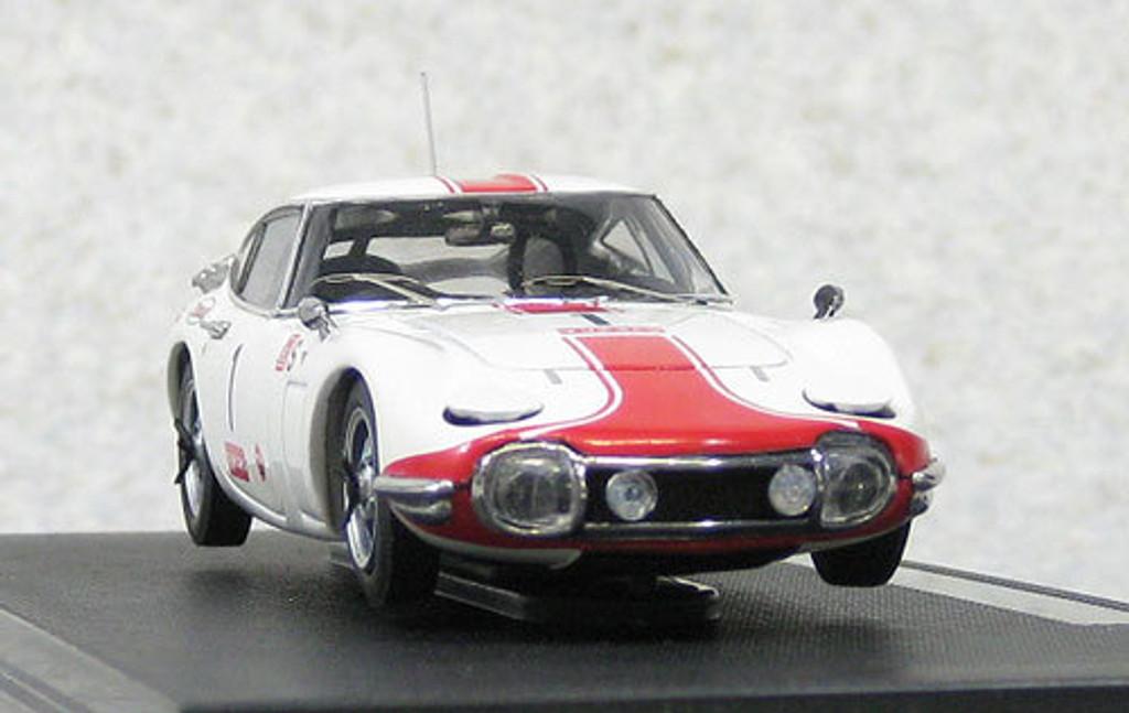 Ebbro 44627 Toyota 2000GT 1967 Japan Fuji 24H Race #1 1/43 Scale