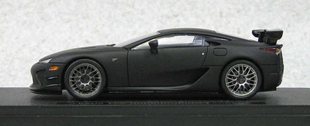 Ebbro 44640 LEXUS LFA Nurburgring Package Matt Black (Resin Model) 1/43 Scale