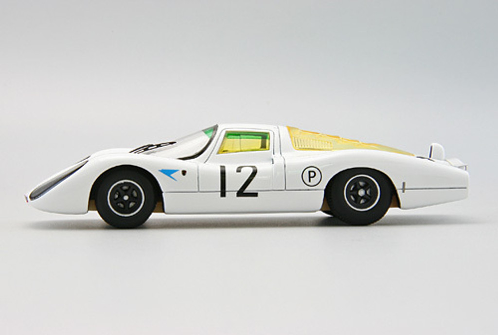 Ebbro 44649 Porsche 907 1967 Brands Hatch White (Resin Model) 1/43 Scale