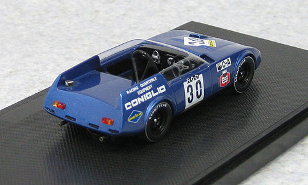 Ebbro 44670 RQ Coniglio Fuji Debut Race 1968 M.Blue (Resin Model) 1/43 Scale