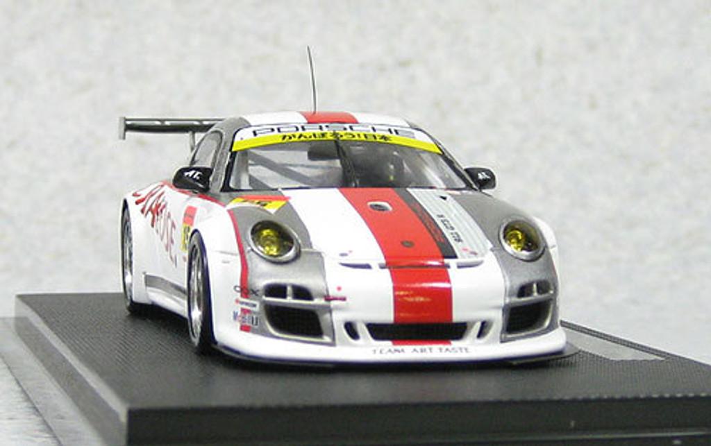 Ebbro 44676 Art Taste Porsche Super GT300 2011 #15 (Resin Model) 1/43 Scale