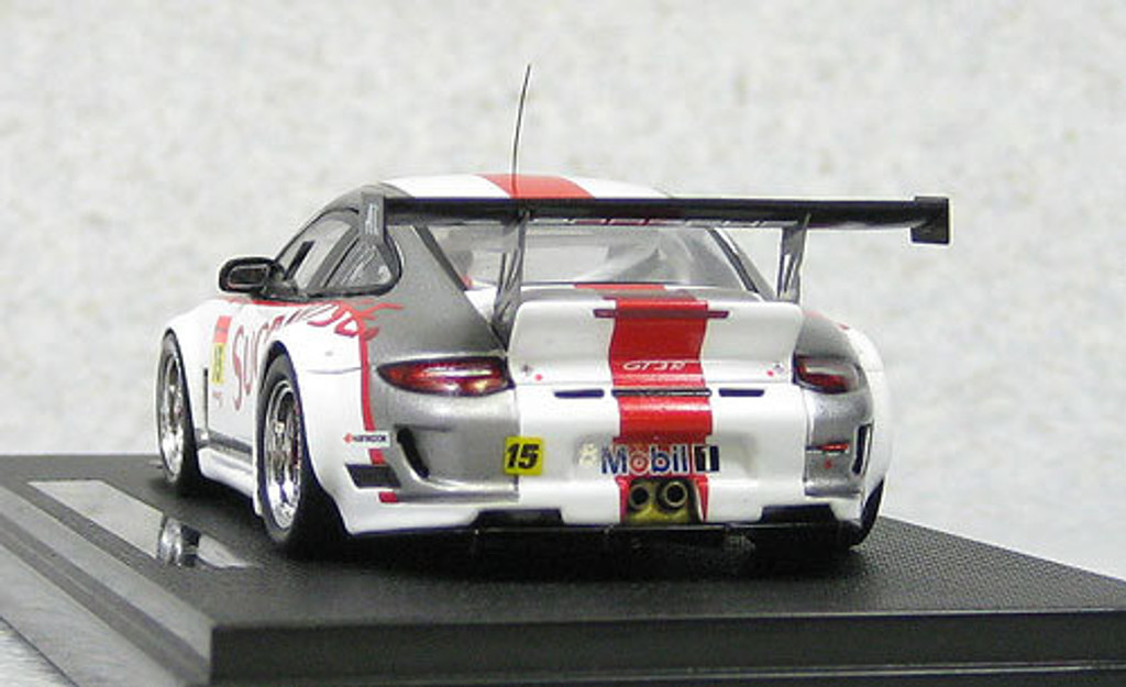 Ebbro 44676 Art Taste Porsche Super GT300 2011 #15 (Resin Model) 1/43 Scale