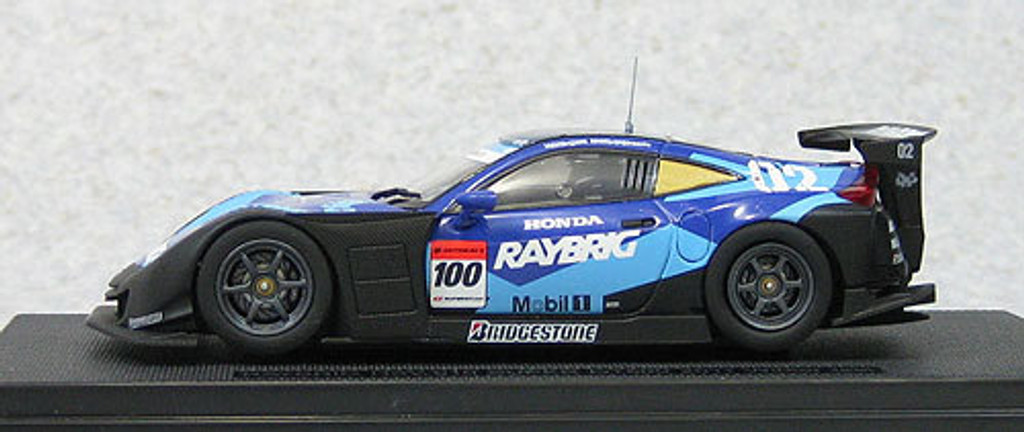 Ebbro 44677 Raybrig HSV-010 Super GT500 2011 Winter Test Suzuka #100 1/43 Scale