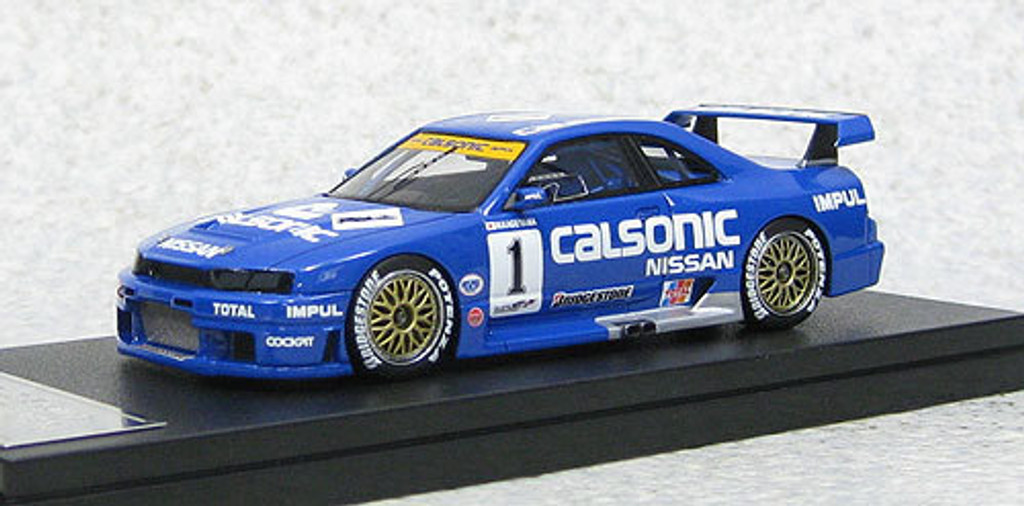 Ebbro 44766 Calsonic Skyline GT-R JGTC 1995 #1 Fuji (Resin Model) 1/43 Scale