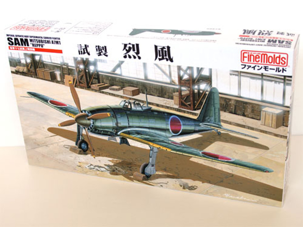 Fine Molds FB11 IJN MITSUBISHI A7M1 REPPU SAM 1/48 Scale Kit