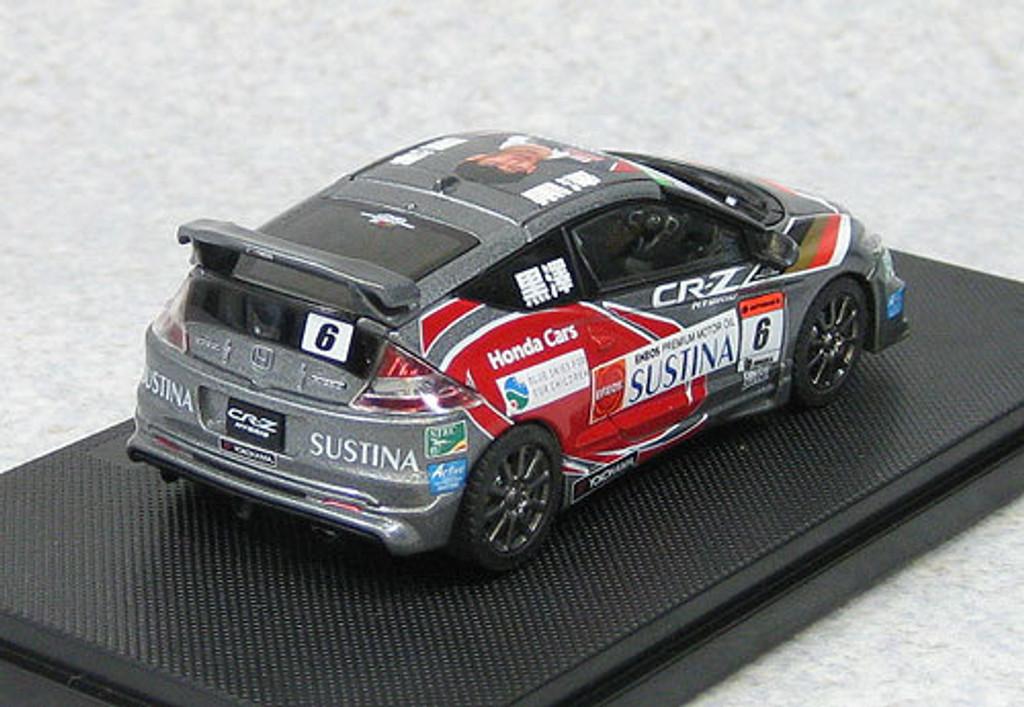 Ebbro 44798 Honda CR-Z Legend Cup 2011 #6 Kurosawa 1/43 Scale