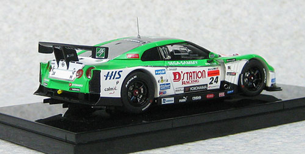 Ebbro 44734 Nissan GT-R D-Station Advan Super GT500 2012 No.24 1/43 Scale
