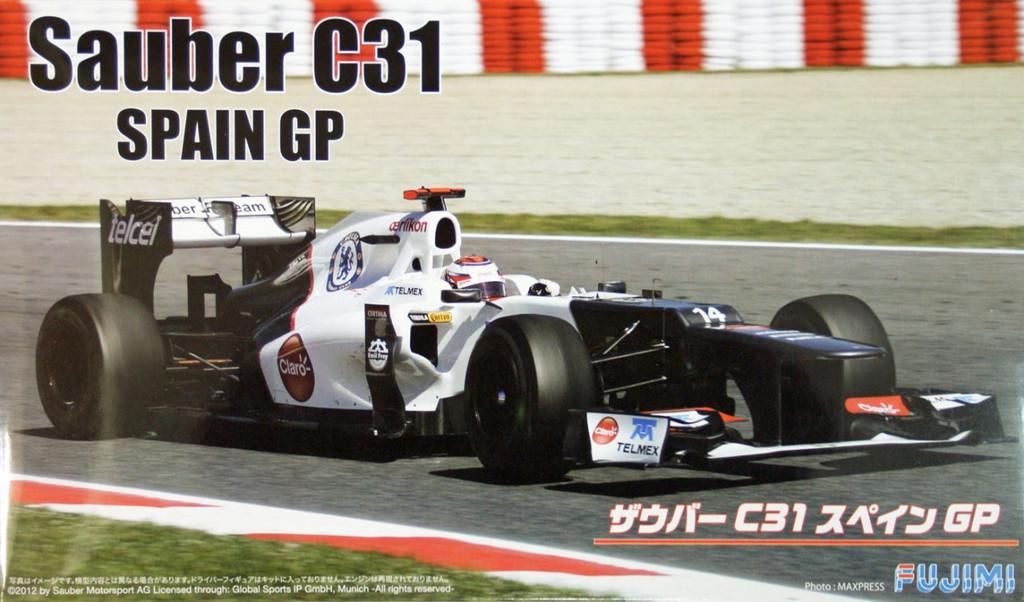 Fujimi GP47 F1 Sauber C31 Spain GP 1/20 Scale Kit