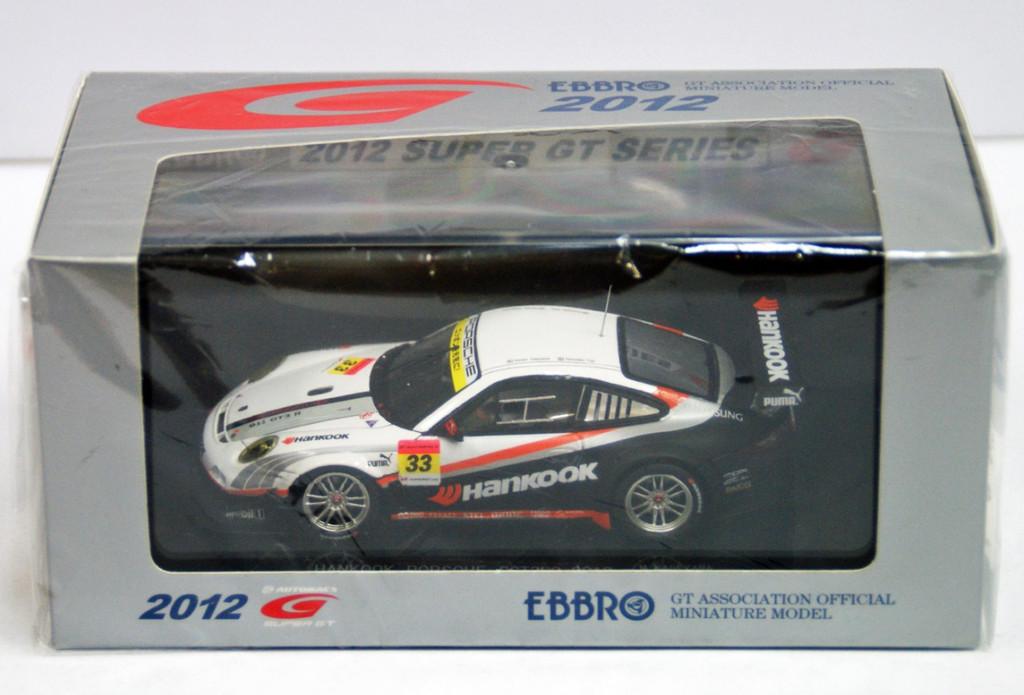 Ebbro 44751 Hankook Porsche Super GT 300 2012 No.33 (Resin Model) 1/43 Scale