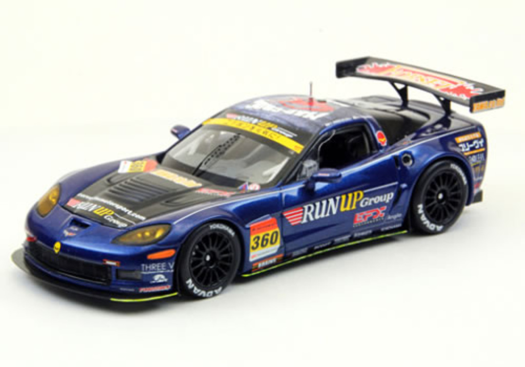 Ebbro 44760 Run up Corvette Super GT300 2012 No.360 (Resin Model) 1/43 Scale