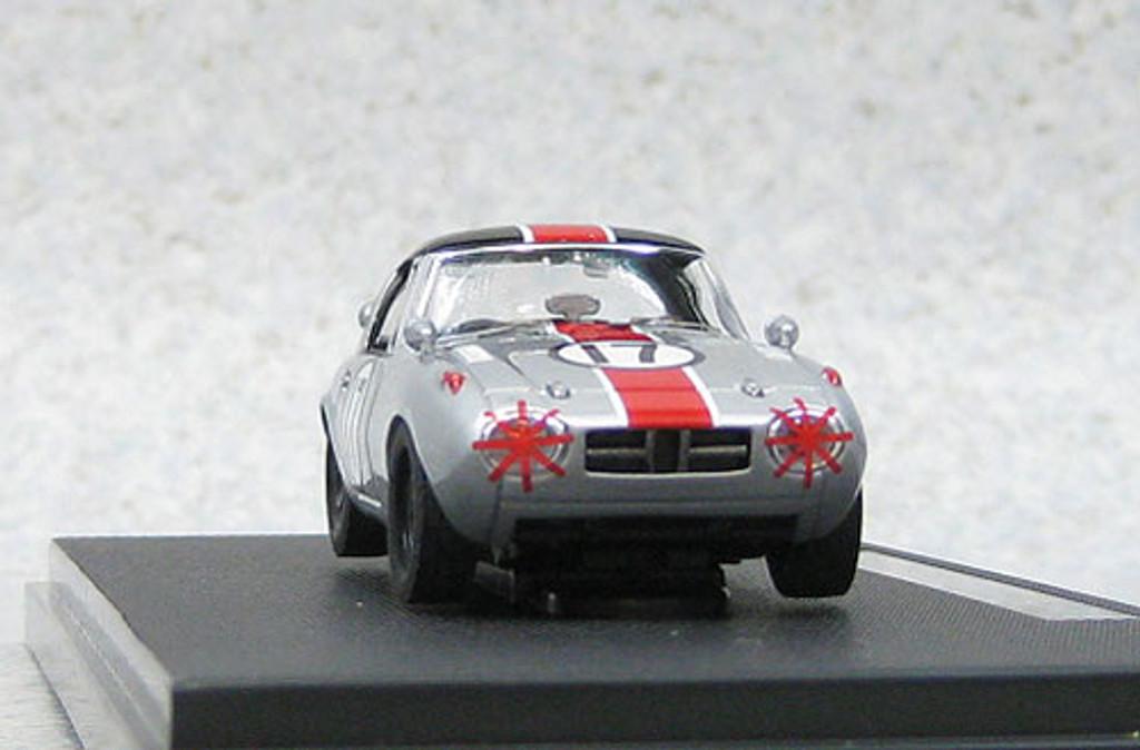 Ebbro 44787 Toyota Sports 800 Funabashi CCC 1965 #17 (Silver) 1/43 Scale