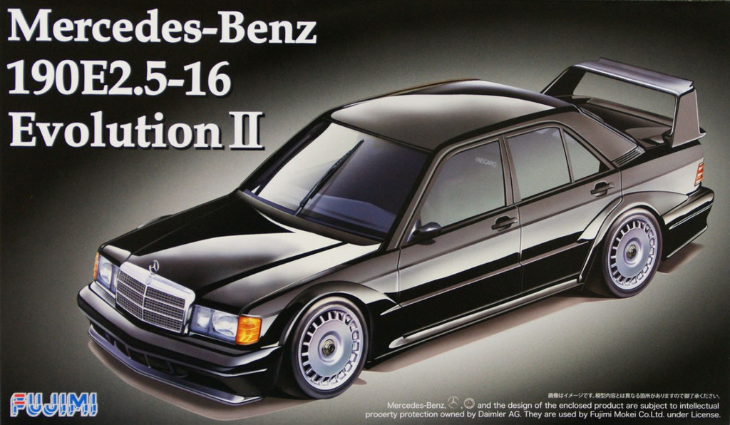 Fujimi RS-14 Mercedes Benz 190E 2.5-16 Evolution II 1/24 Scale Kit