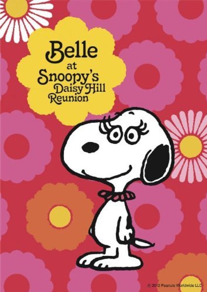 Apollo-sha Jigsaw Puzzle 41-703 Peanuts Snoopy Cute Belle (108 Pieces)