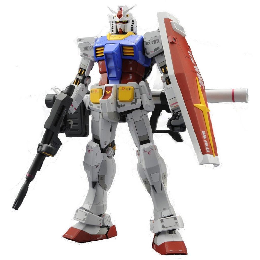 Bandai MG 836557 Gundam RX-78-2 Version3.0 (MASTER GRADE 3.0) 1/100 Scale Kit
