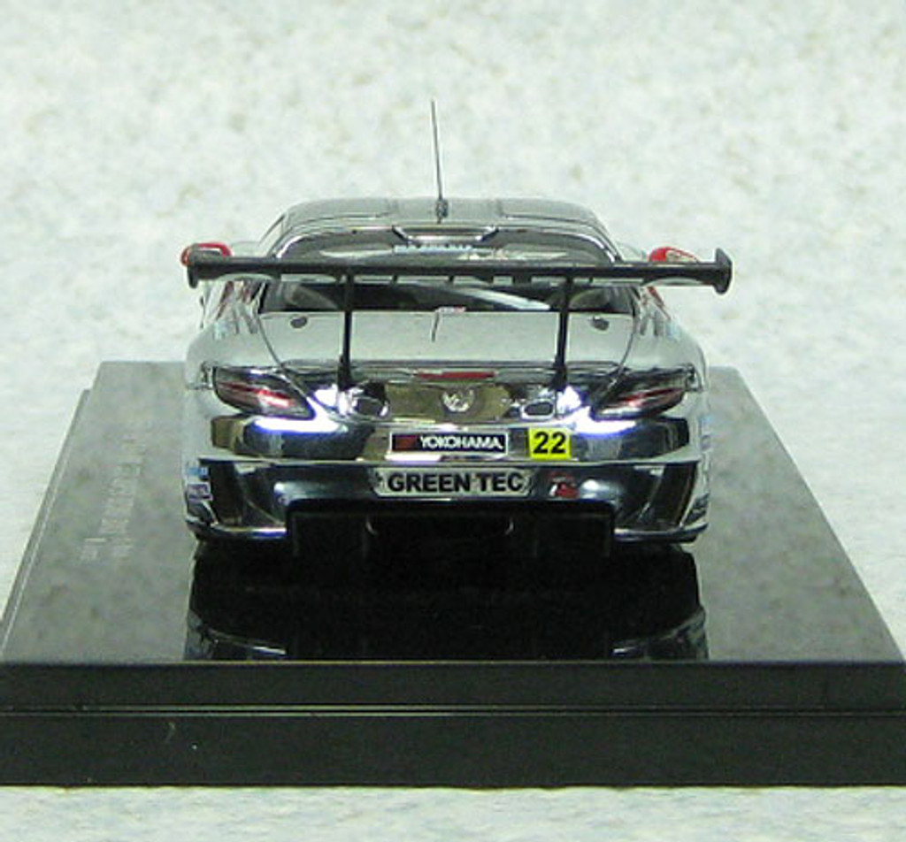 Ebbro 44932 Mercedes-Benz Green Tec SLS AMG GT3 Super GT300 2013 #22 1/43 Scale