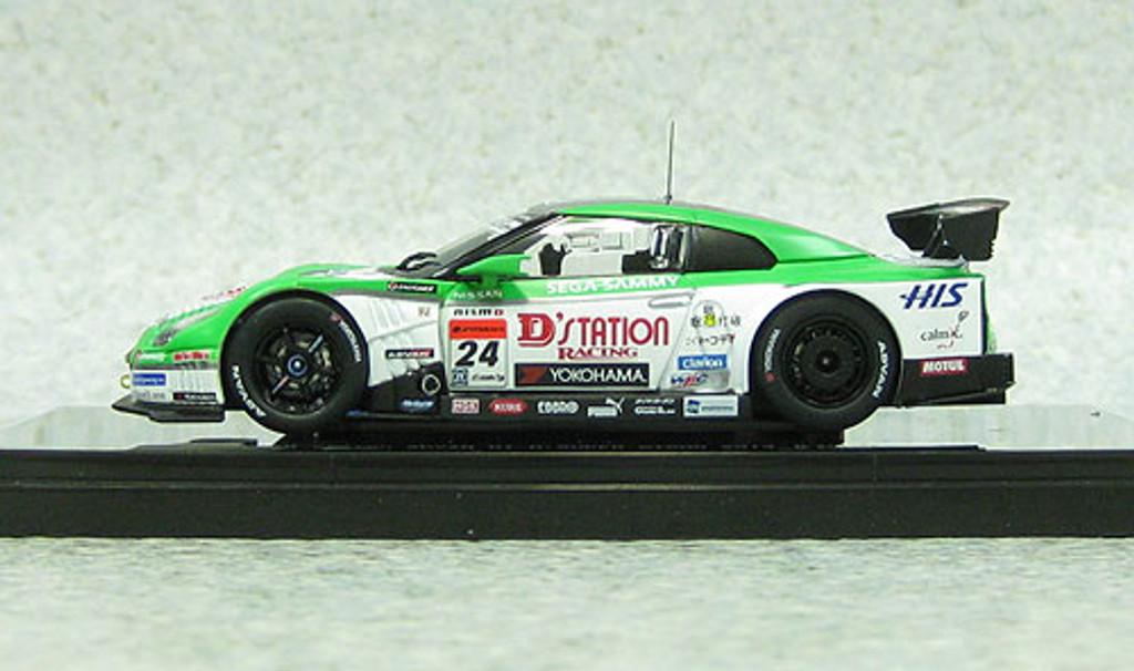 Ebbro 44913 D'station Advan Nissan GT-R Super GT500 2013 #24 1/43 Scale