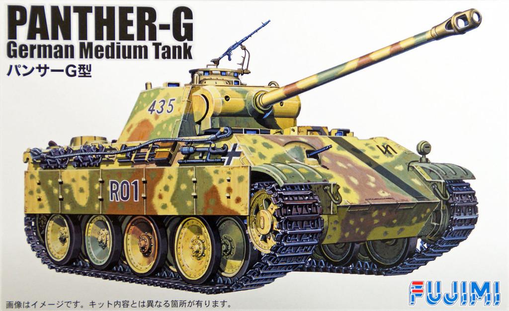 Fujimi SWA25 Special World Armor Panther-G German Medium Tank 1/76 Scale Kit