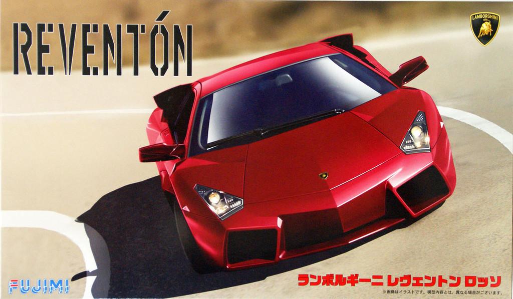 Fujimi RS-61 Lamborghini Reventon Rosso 1/24 Scale Kit 125749