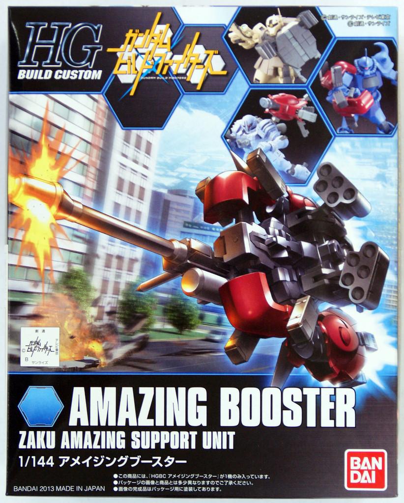 Bandai HG Build Custom 002 AMAZING BOOSTER ZAKU AMAZING SUPPORT UNIT 1/144 Scale Kit
