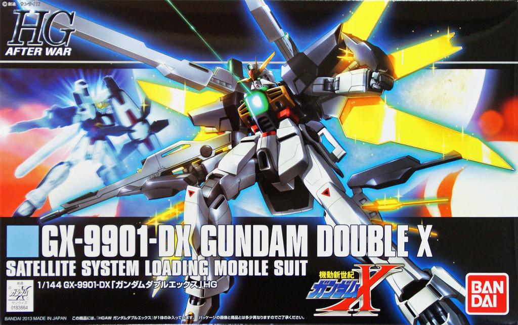 Bandai HGUC 163 Gundam GX-9901-DX Gundam DOUBLE X 1/144 Scale Kit