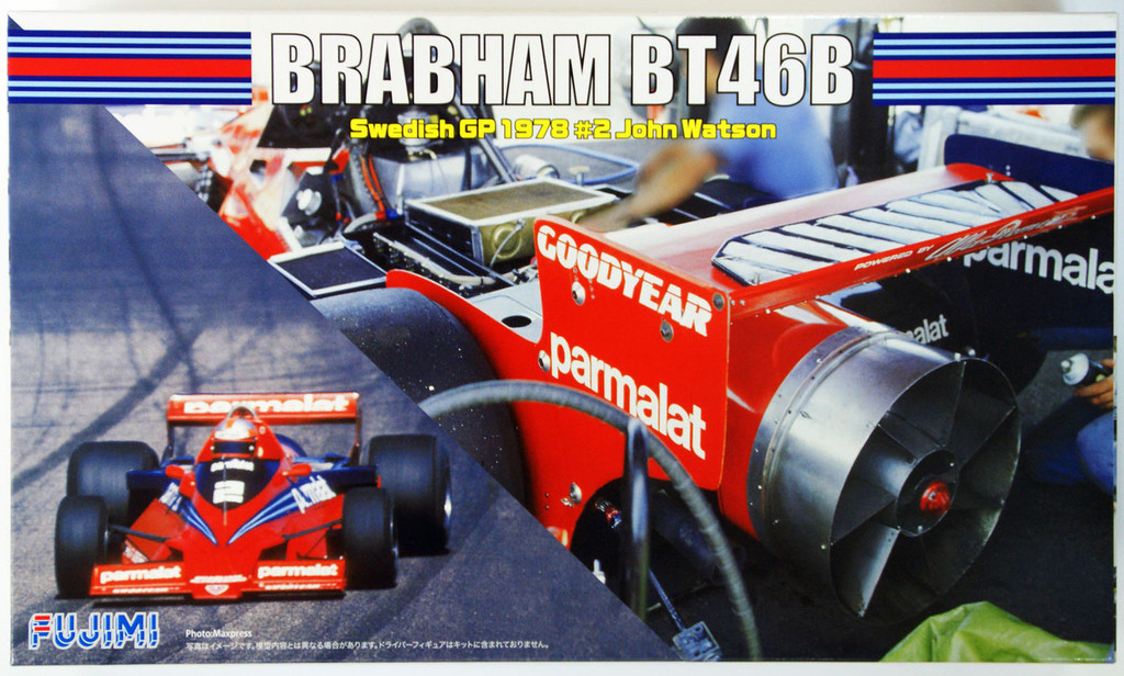 Fujimi GP SP36 F1 Brabham BT46B Swedish GP 1978 #2 Skeleton Body 1/20 Scale Kit