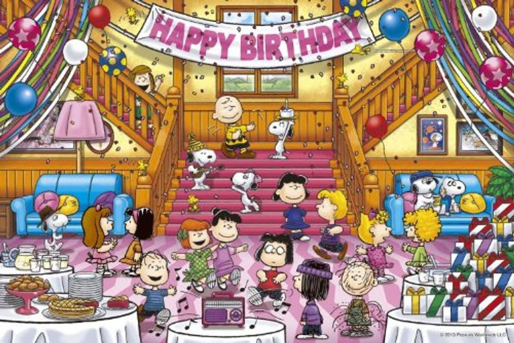 Epoch Jigsaw Puzzle 11-476 Peanuts Snoopy Peanuts Party (1000 Pieces)