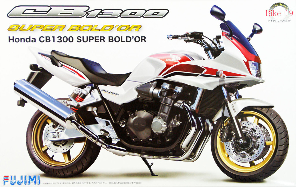 Fujimi Bike-19 Honda CB 1300 Super Bold'or 1/12 Scale Kit