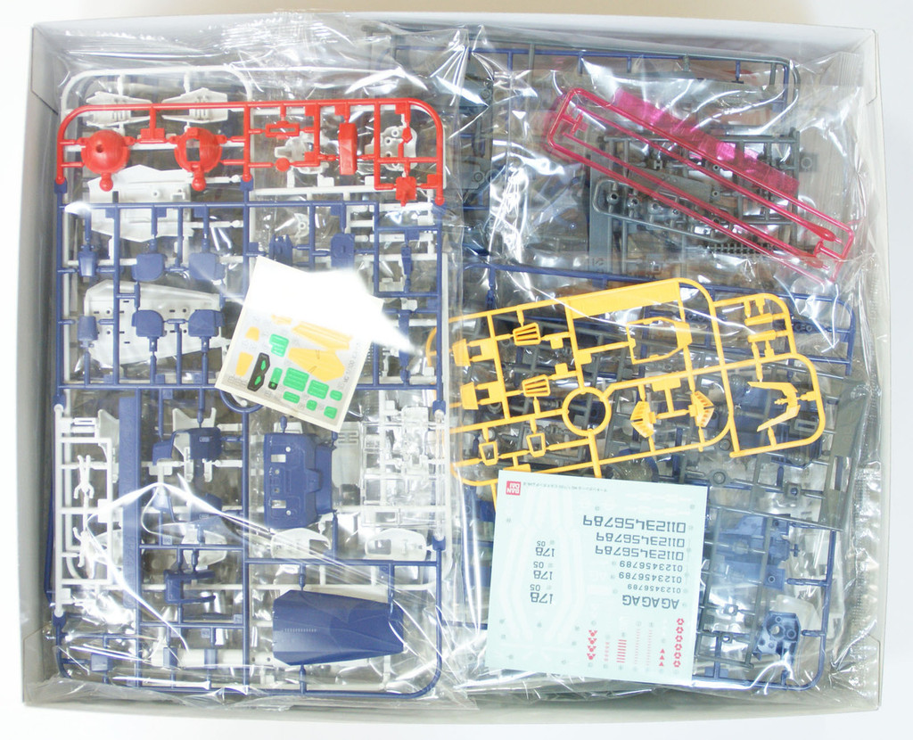 Bandai MG 865274 Gundam RX-178B Build Gundam Mk-II 1/100 Scale Kit