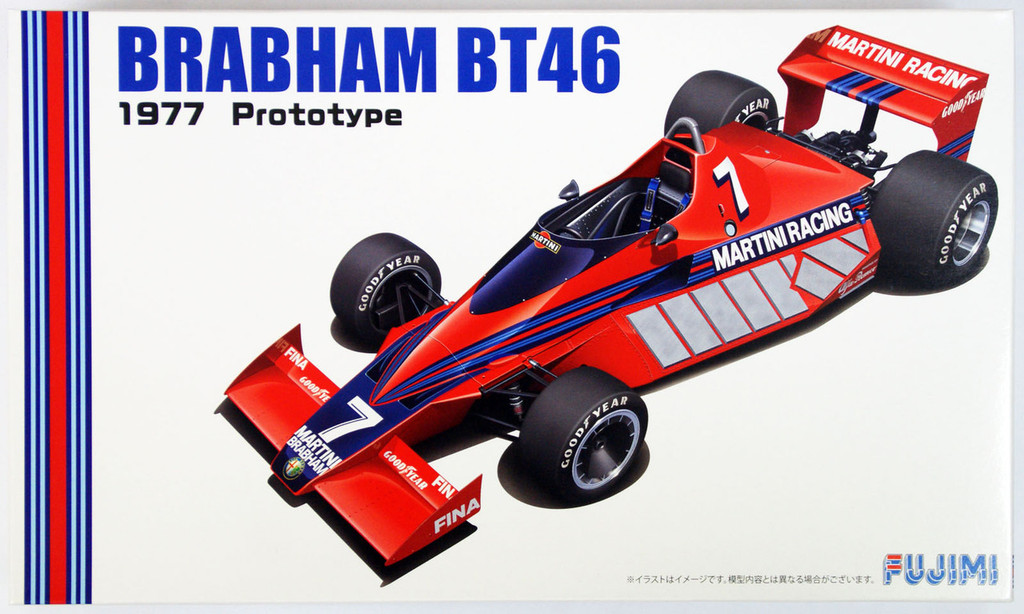 Fujimi GP58 F1 Brabham BT46 1977 Prototype 1/20 Scale Kit