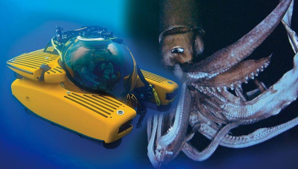 Aoshima 09604 Deep Sea Explorer Series No. 01 Submarine TRITON 1/48 Scale Kit