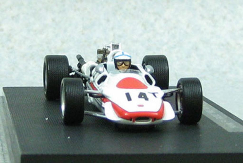 Ebbro 44385 RA302 1968 Italy GP Practice No.14 White 1/43 Scale