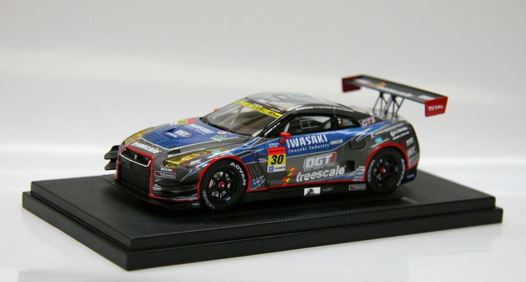 Ebbro 44985 SUPER GT300 2013 No.30 IWASAKI OGT Racing GT-R 1/43 Scale