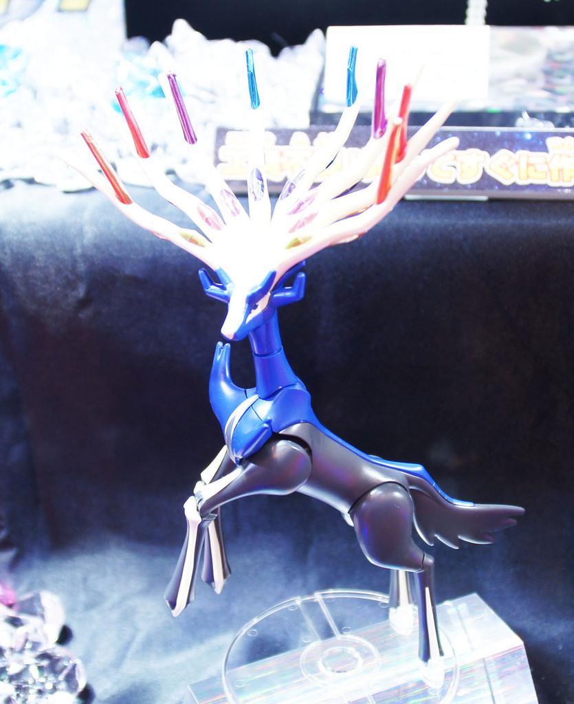 Bandai Pokemon Plamo Xerneas & Diancie Set (Plastic Model Kit)