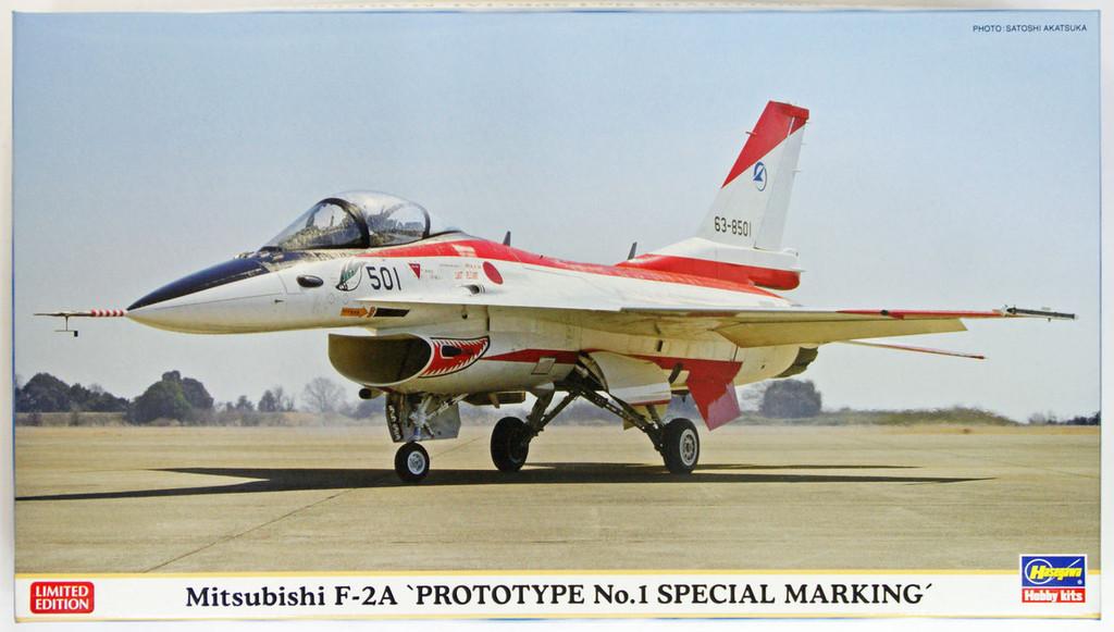 Hasegawa 02117 Mitsubishi F-2A Prototype No. 1 Special Marking 1/72 Scale Kit