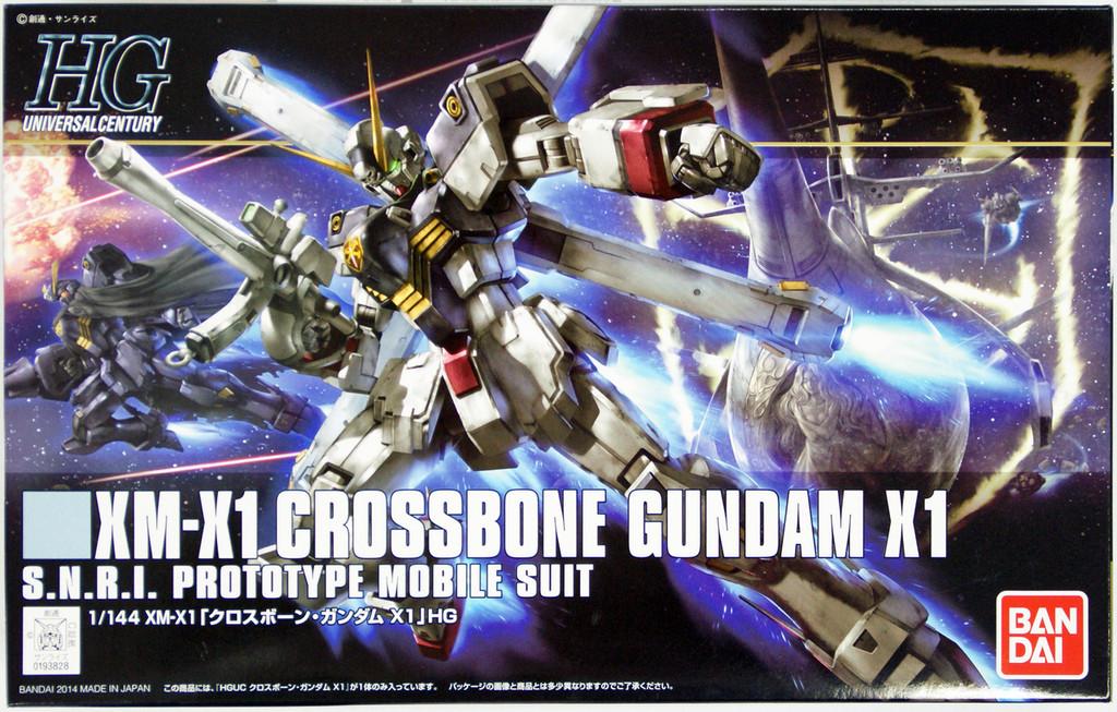 Bandai HGUC 187 Gundam XM-X1 CROSSBOne Gundam X1 1/144 Scale Kit