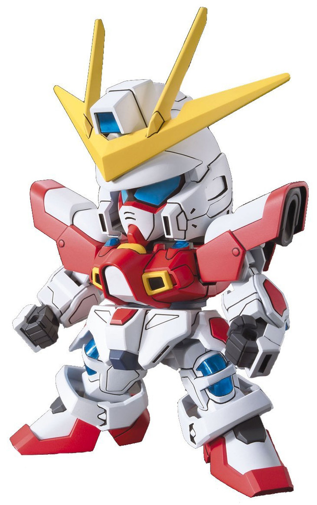 Bandai SD BB 396 Gundam Build Burning Gundam Plastic Model Kit