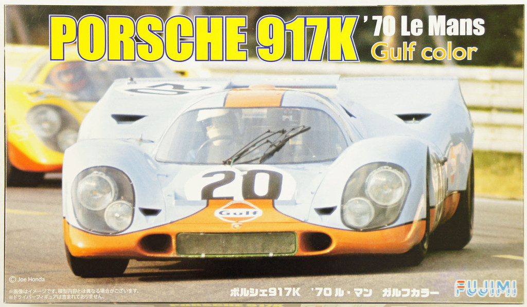 Fujimi RS-04 Porsche 917K 1970 Le Mans Gulf Color 1/24 Scale Kit 126135