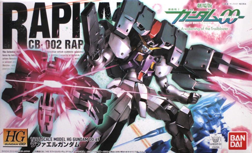 Bandai HG OO 69 Gundam RAPHAEL CB-002 1/144 Scale Kit