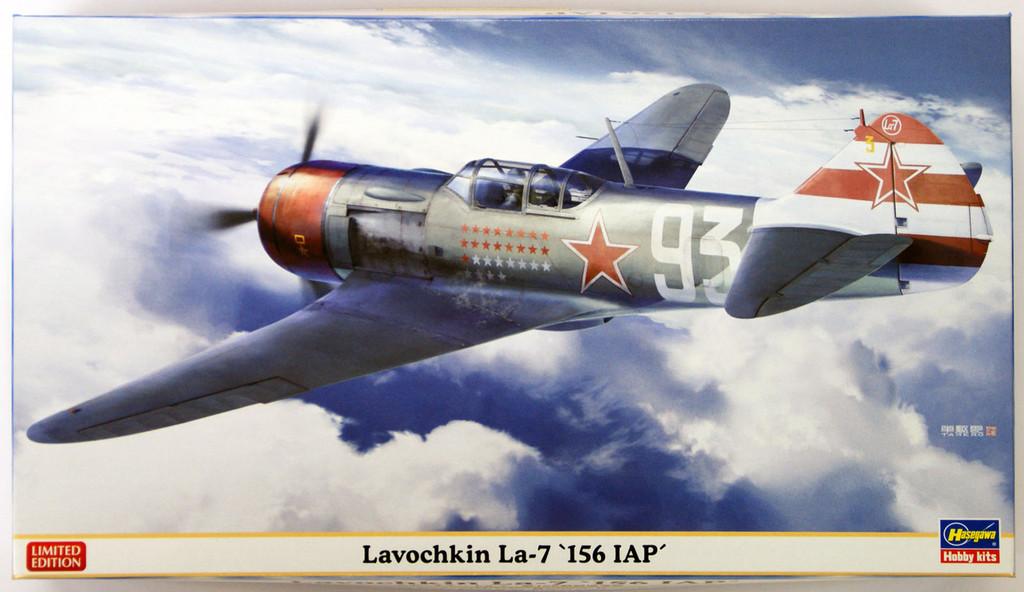 Hasegawa 07398 Lavochkin La-7 156 IAP 1/48 Scale Kit