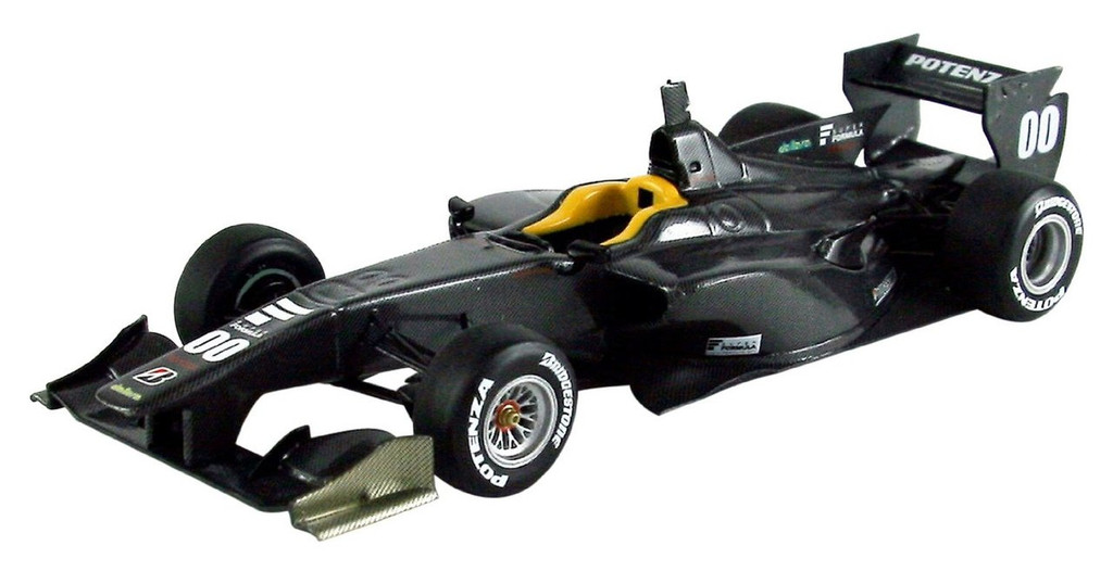 Ebbro 45112 SUPER FORMULA SF14 TOYOTA MSJ 2013 #00 Black 1/43 Scale