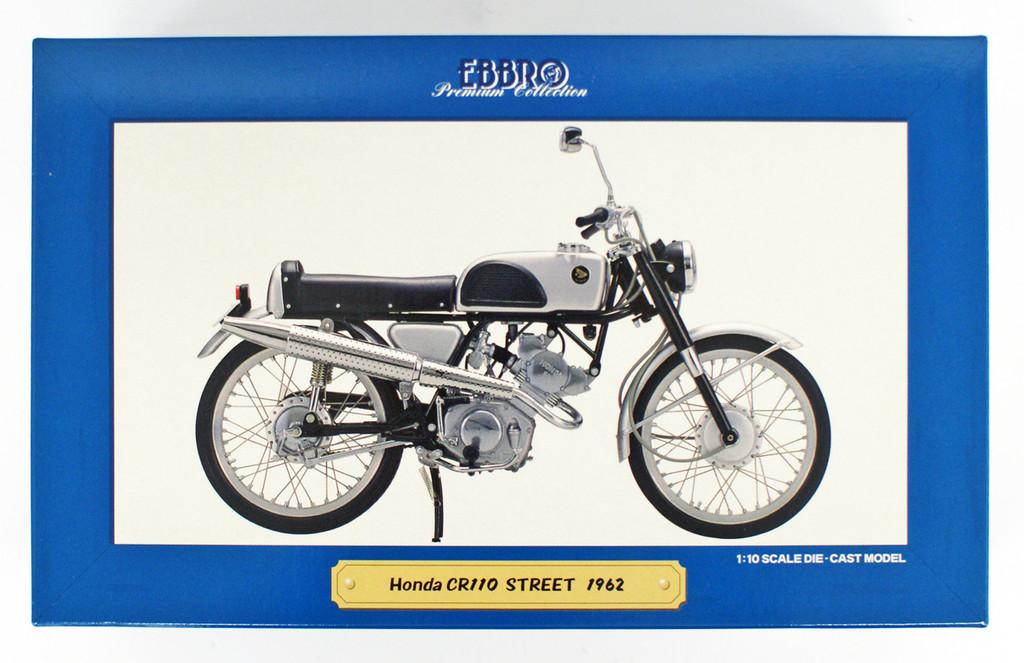 Ebbro 10004 Honda CR110 Street 1962 1/10 Scale