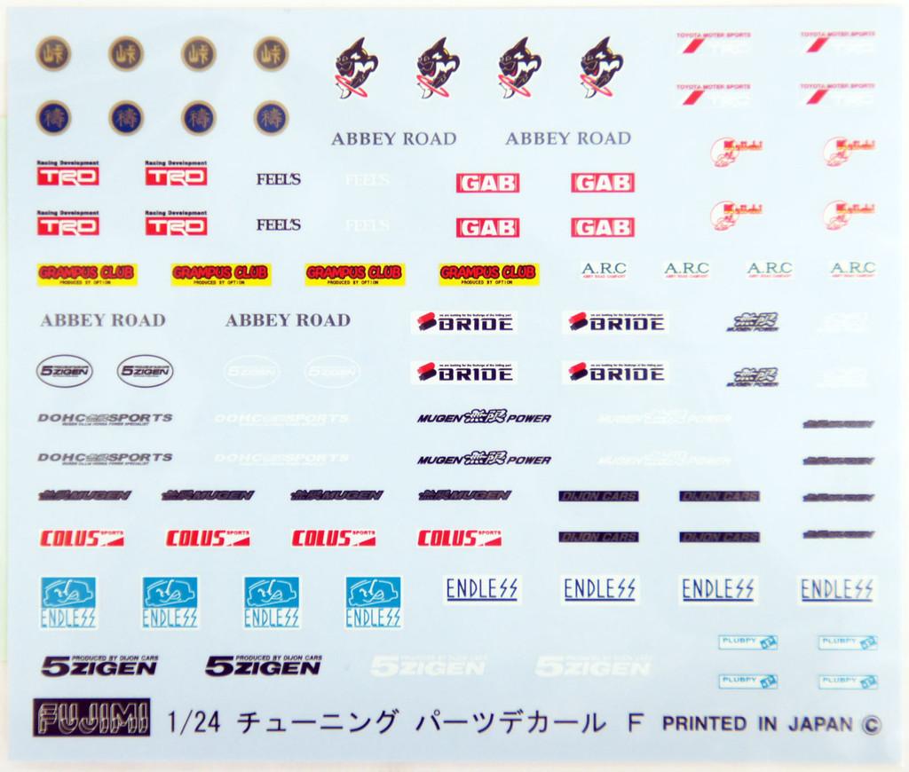 Fujimi TOHGE-14 Toyota Cresta GT Twinturbo GX71 1/24 Scale Kit