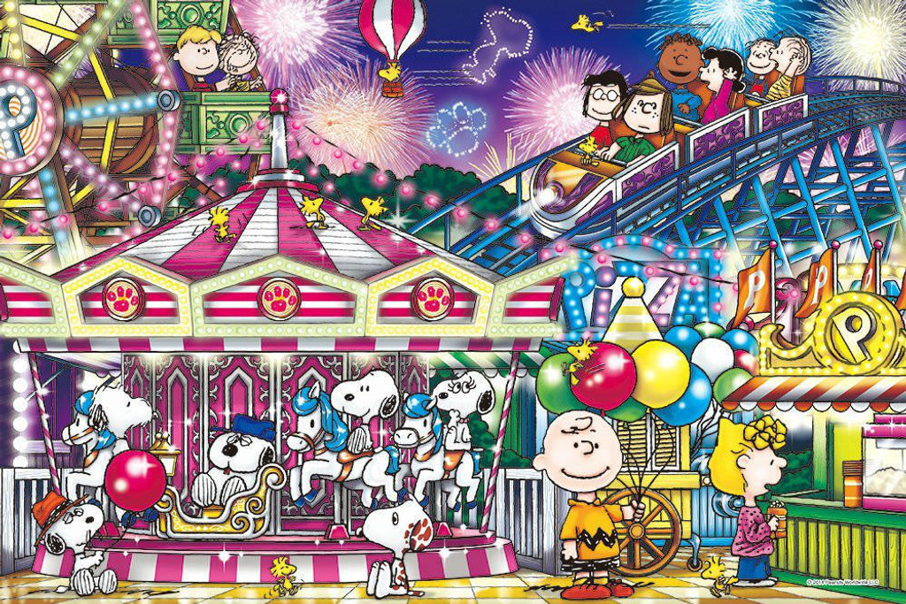 Epoch Jigsaw Puzzle 11-518 Peanuts Snoopy Carnival (1000 Pieces)