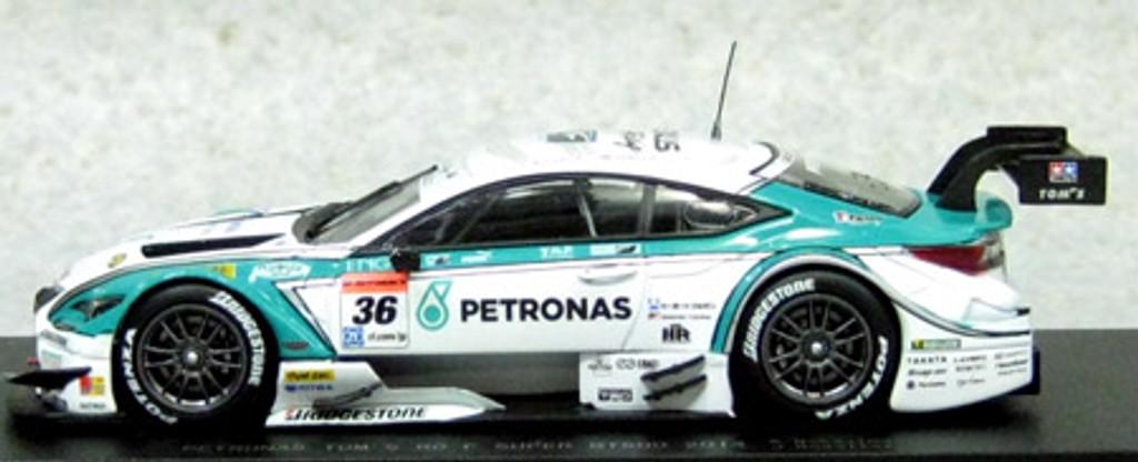 Ebbro 45064 PETRONAS TOM'S RC F SUPER GT500 2014 No.36 White 1/43 Scale